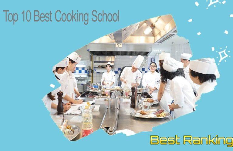 10 อันดับ โรงเรียนสอนทำอาหารที่ดีที่สุดในเอเชีย